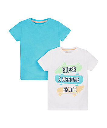 Super Awesome Skate T-Shirts - 2 Pack