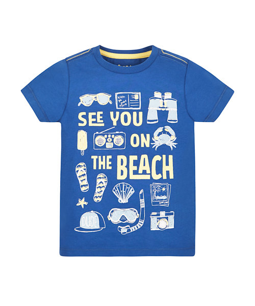 See You On The Beach' Tee