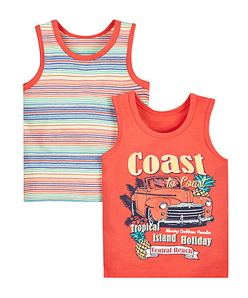 Coast to Coast Vest - 2 Pack