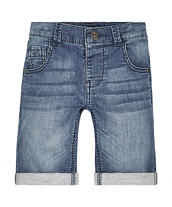 Lightwash Denim Shorts