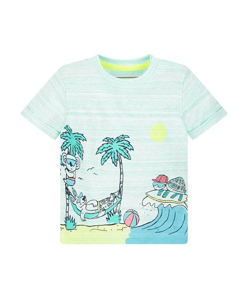 Beach Print Tee
