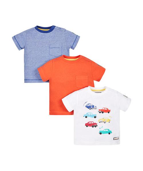 Car T-Shirt - 3 Pack