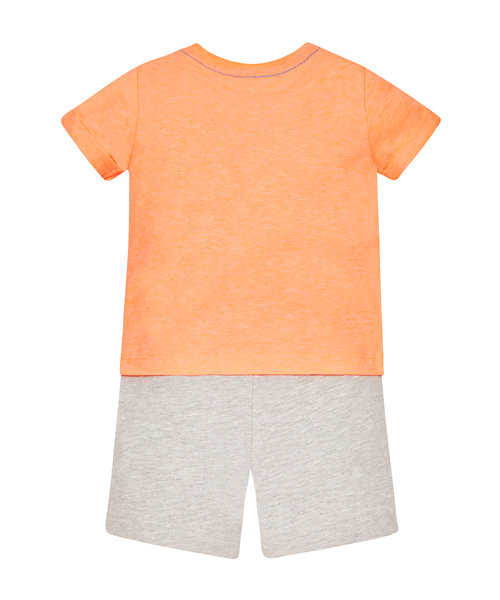 Chill Out' Tee and Shorts Set