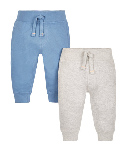 Grey and Riviera Joggers - 2 Pack