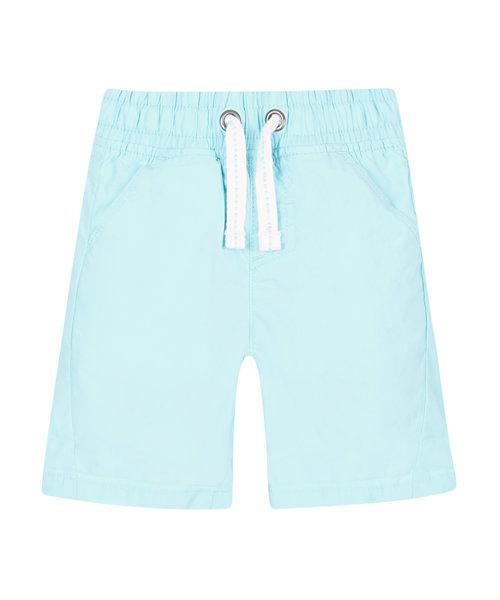 Sky Blue Poplin Shorts