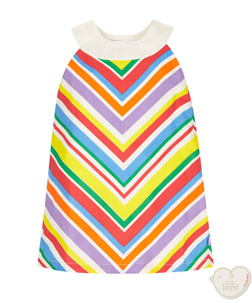 Little Bird Chevron Stripe Dress