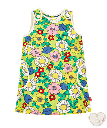 Little Bird by Jools Floral Canvas Dress
