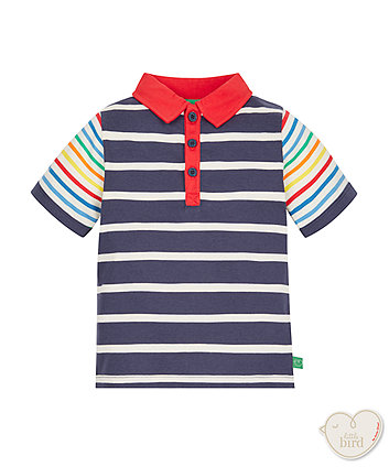 Little Bird by Jools Stripe Polo