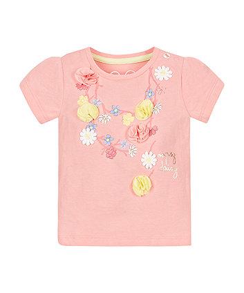 Daisy Necklace T-Shirt