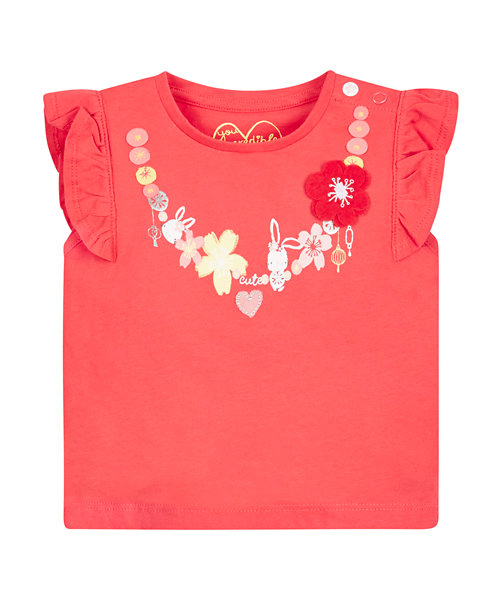 Mothercare Assorted T-Shirts - 3 Pack