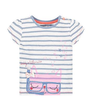 Snorkelling Cat T-Shirt