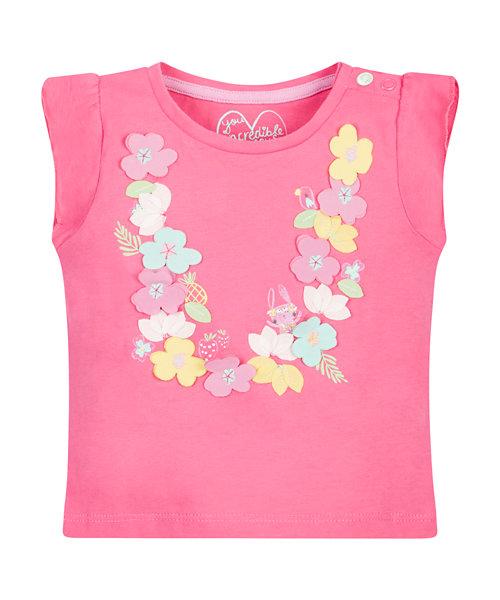 Flower Necklace T-Shirt