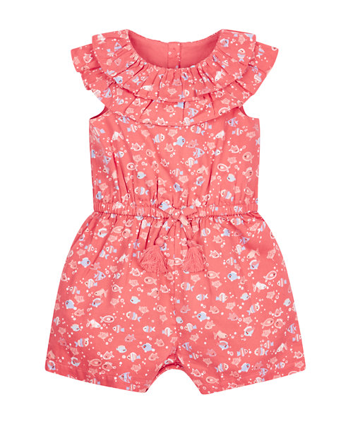 Coral Sea Playsuit