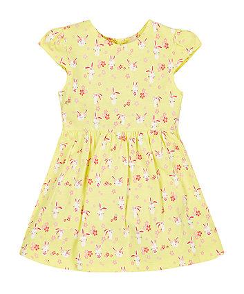 Yellow Bunny Dress