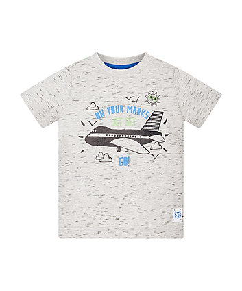 On Your Marks Aeroplane T-Shirt