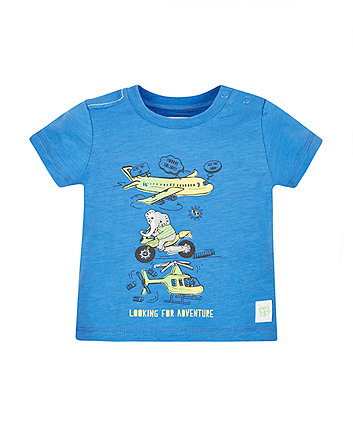 Looking For Adventure Transport T-Shirt