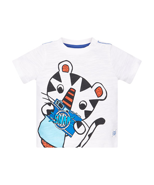 Tiger Camera T-Shirt