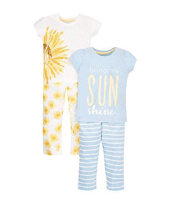 Sunshine Pyjamas - 2 Pack