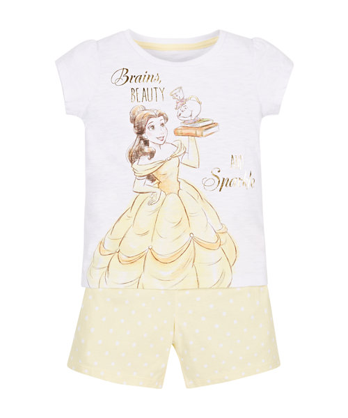Disney Belle Shortie Pyjamas