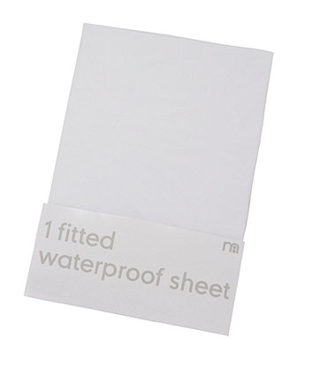 Waterproof Cot Bed Fitted Mattress Protector Sheet