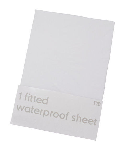 Mothercare Fitted Waterproof Mattress Protector