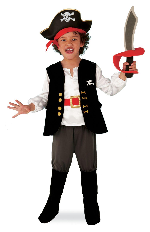 Новогодний костюм пирата сделать своими руками
