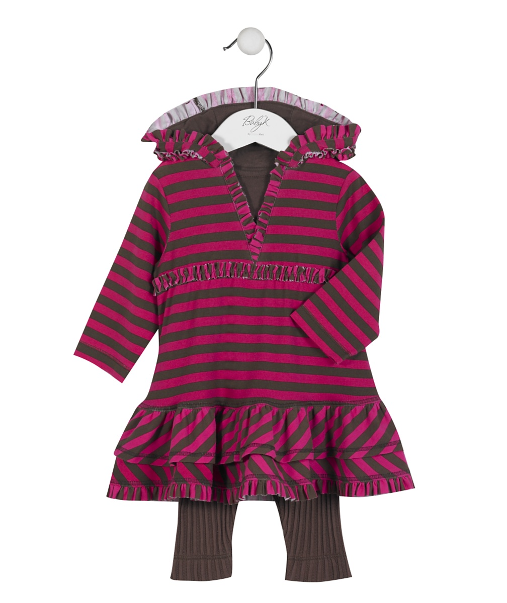 Baby K Hooded Dress and Legging Set