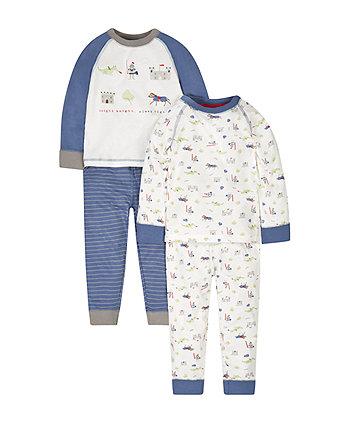 Knight, Knight Pyjamas - 2 Pack