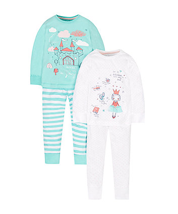 Princess Pyjamas - 2 Pack
