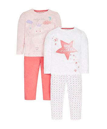 Princess Pyjamas - 2 Pack