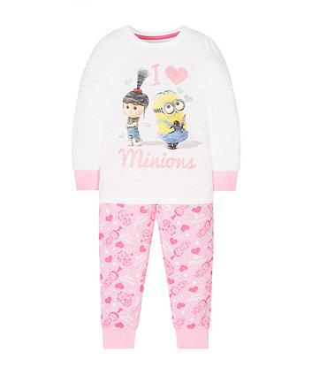 I Love Minions Pyjamas
