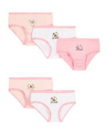 Disney Bambi Briefs - 5 Pack