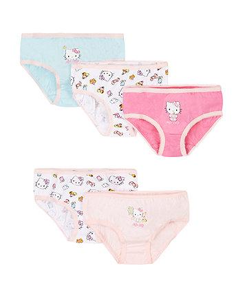 Hello Kitty Briefs - 5 Pack