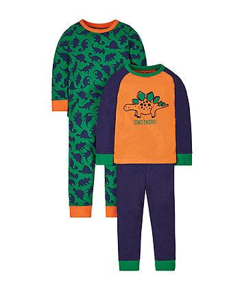 Dino Snore Pyjamas - 2Pack