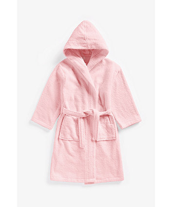 Pink Towelling Robe