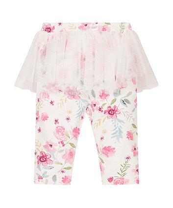 Floral Leggings And Tutu