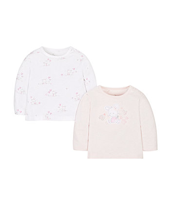 My First Mouse Print T-Shirts - 2 Pack