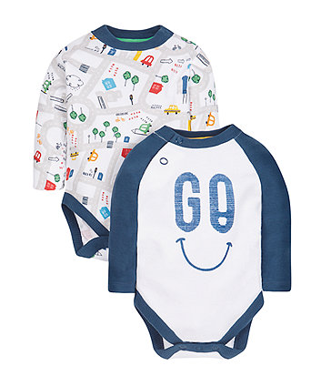 Little City Bodysuits - 2 Pack