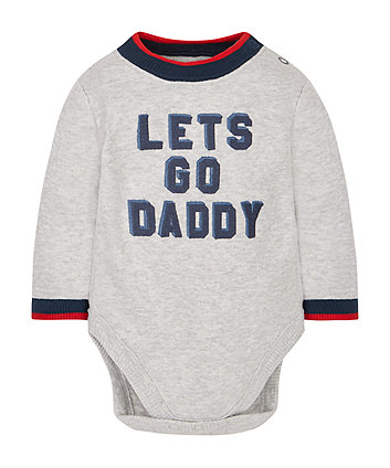 Let'S Go Daddy Bodysuit