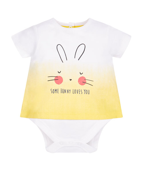 Bunny Mock T-Shirt Bodysuit