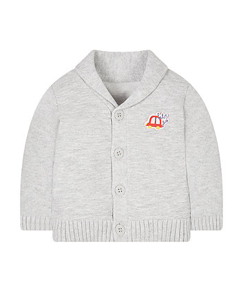 Grey Car Cardigan