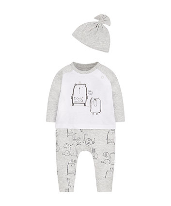 Top, Hat And Jogger Set