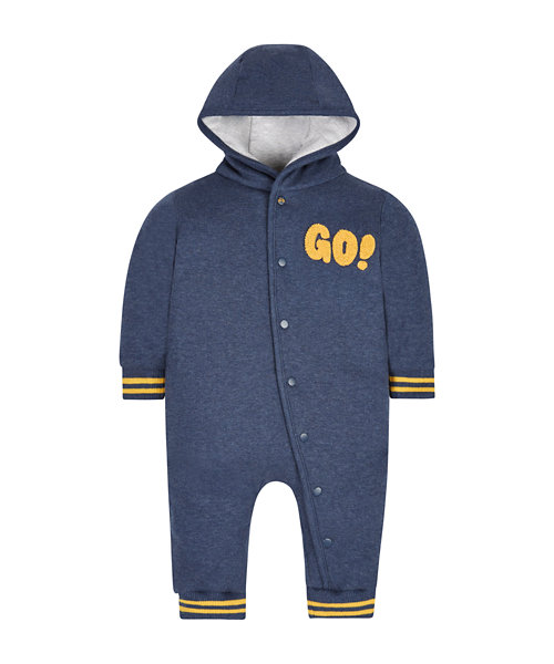 Navy And Yellow Pramsuit
