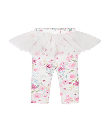 Floral Leggings And Tutu