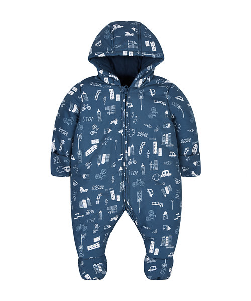 Little City Jersey Lined Snowsuit