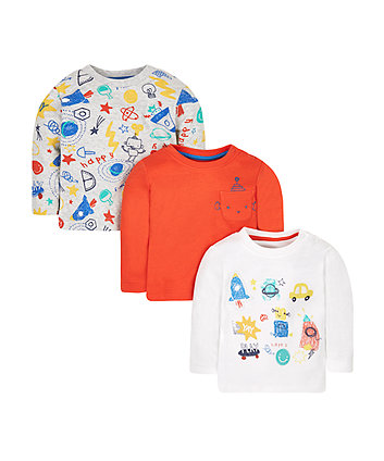 Doodle T-Shirts - 3 Pack