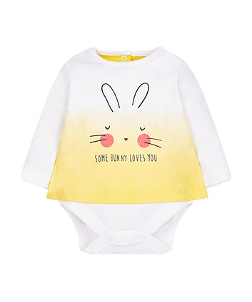 Bunny Mock T-Shirt Bodysuit