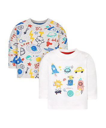 Doodle T-Shirts - 2 Pack