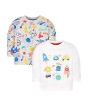Doodle T-Shirts - 2 Pack