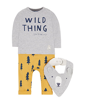 Wild Thing Mock All In One With Bib
